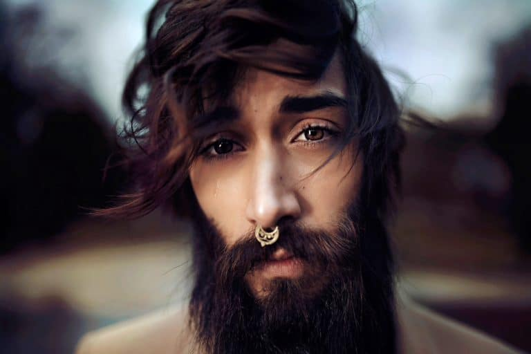 How to Overcome Writers Block featured image of bearded man