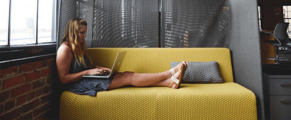 Can I publish a book for free featured image of girl on couch