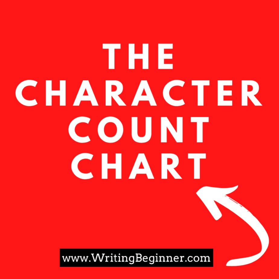 How Many Characters Should A Book Have_
