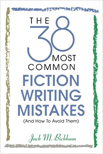 38 Fiction Writing Mistakes for best writing books for beginners
