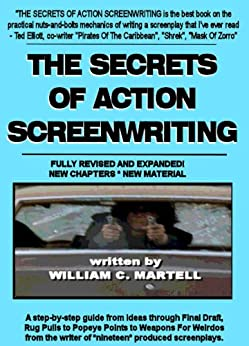 Action Screenwriting Writing book for beginners image