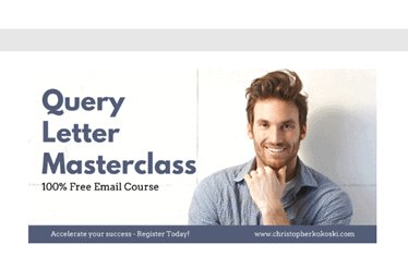 Query Letter Email Course image for what courses to take to become a writer
