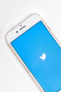 Twitter on cell phone for is social media good or bad for writers