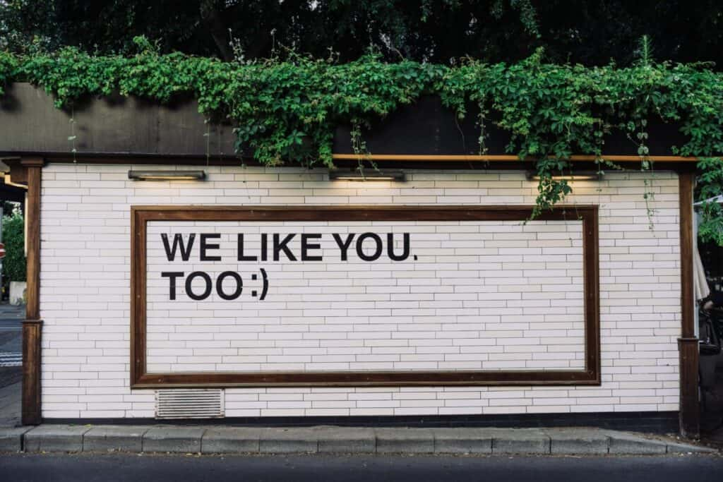 We like you too image for is social media good or bad for writers