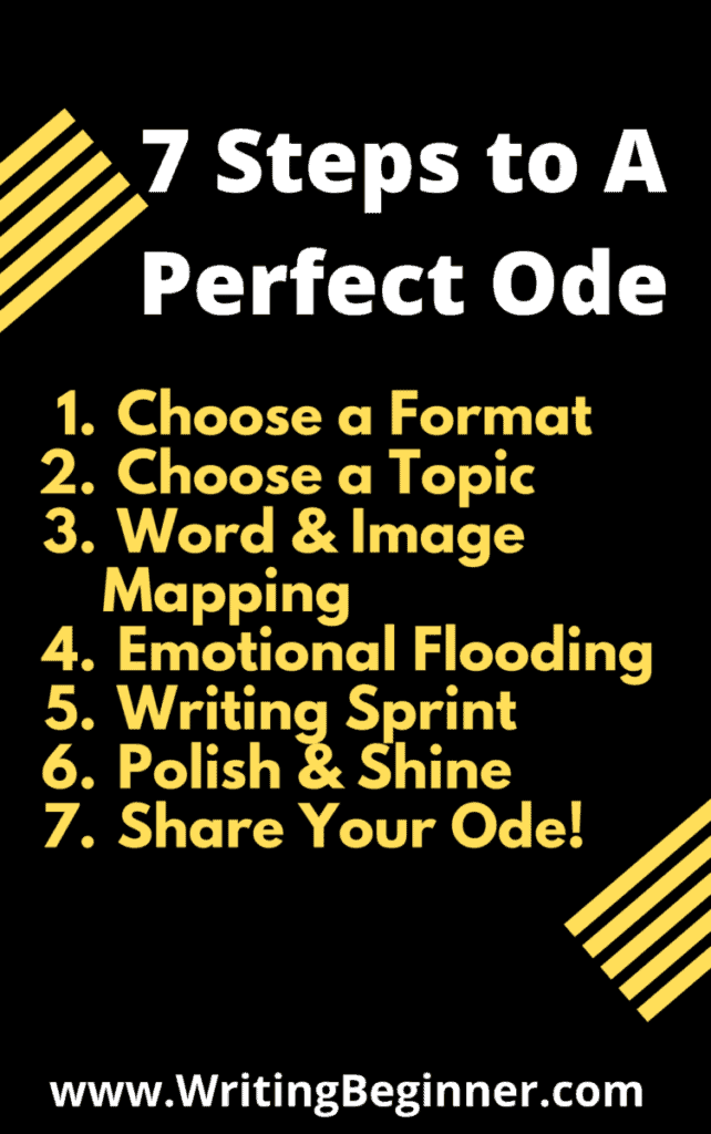 7 Steps to the Perfect Ode