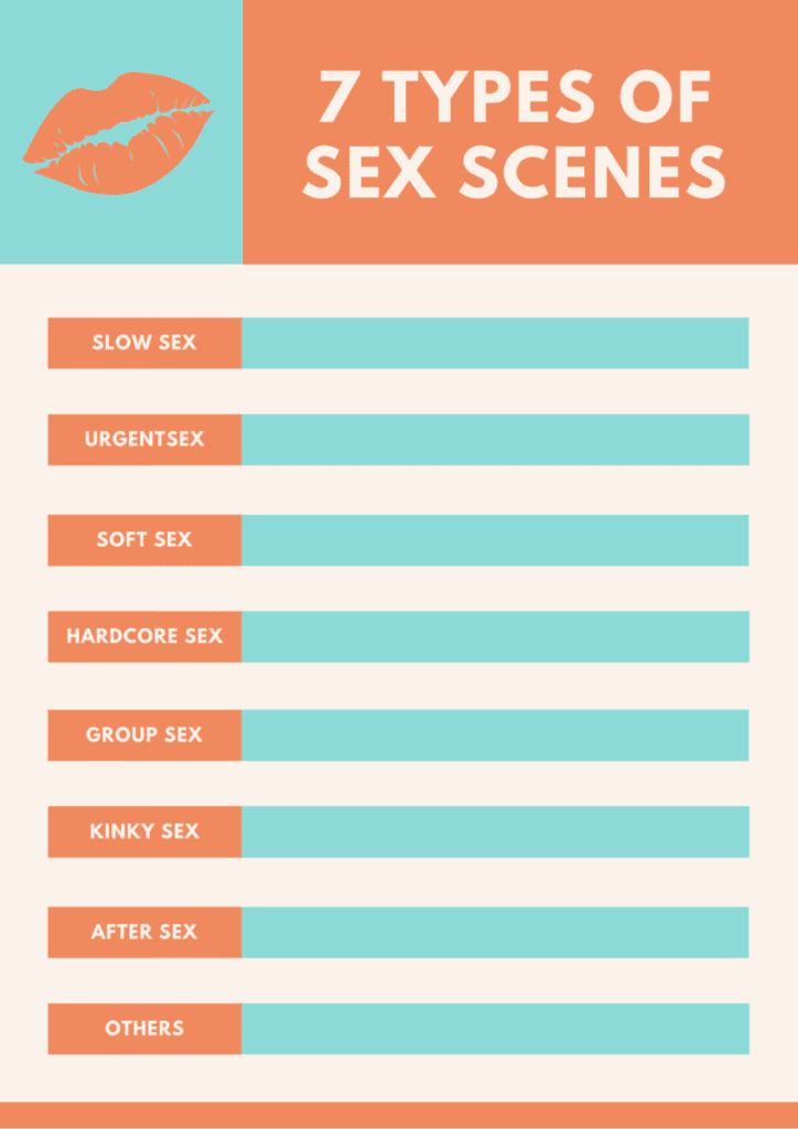 7 Types of Sex Scenes Checklist