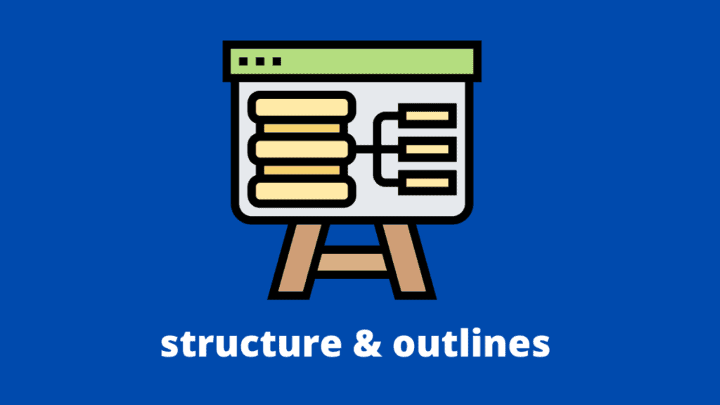 Easel with graph on blue background for my How to write an editorial article