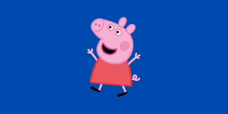 Royalty free image of Peppa Pig for Peppa Pig Antgonist article