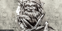 sketch of a gnome