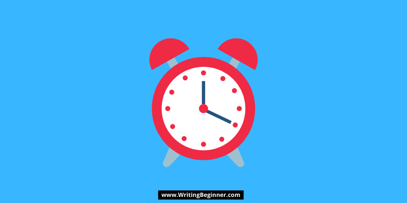 Cartoon Clock—How Long Does It Take To Become a Writer?